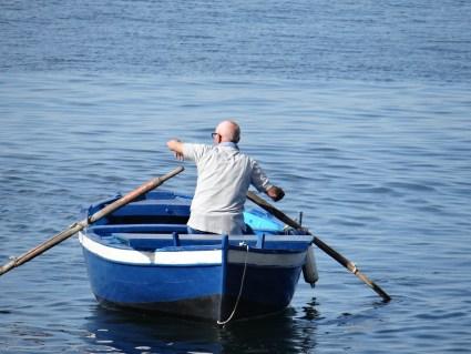 Fisherman in Naples