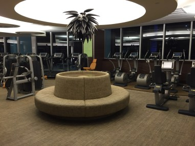 Gym at Epic Miami hotel