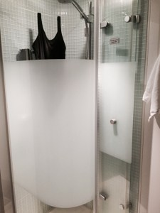 Studio Cabin NCL Shower
