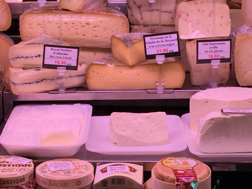 Devour Barcelona Cheeses