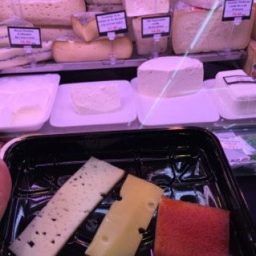 Lactose free cheese in Barcelona