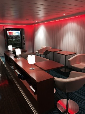 NCL EPIC solo lounge living room