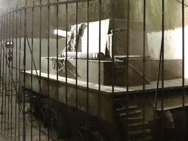 Underground Naples tank