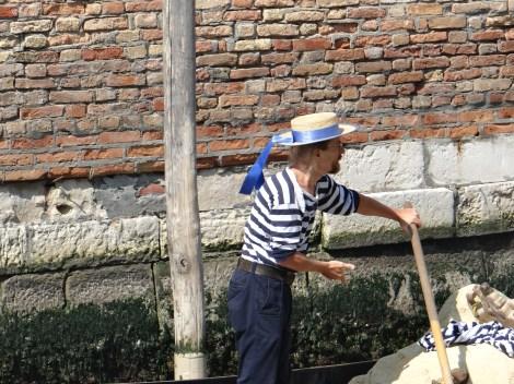 Polish Gondolier Cubi in Venice