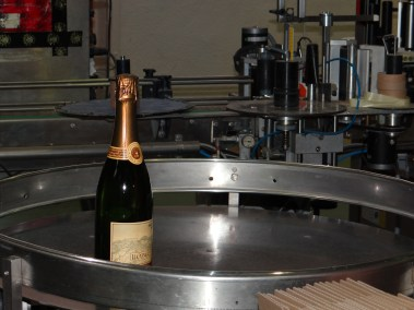 Llopart Cava production line