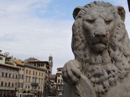 Santa Croce Florence Lion