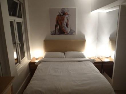 Airbnb London Basement flat bedroom