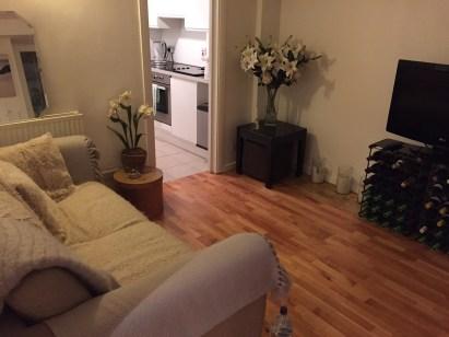 London Airbnb flat south kensington