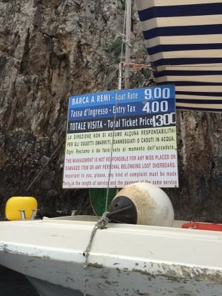 Blue Grotto Prices 2015
