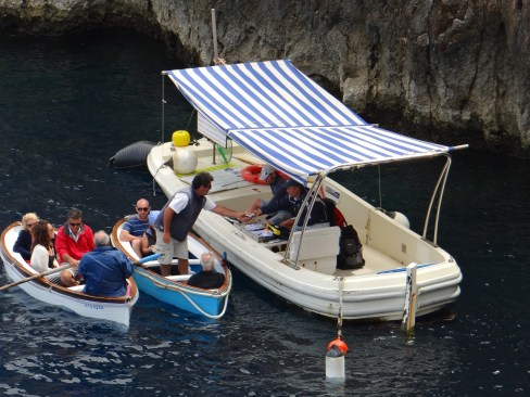 Blue Grotto Ticket Boat
