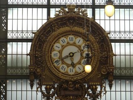 Paris Railway clock Musee D'Orsay