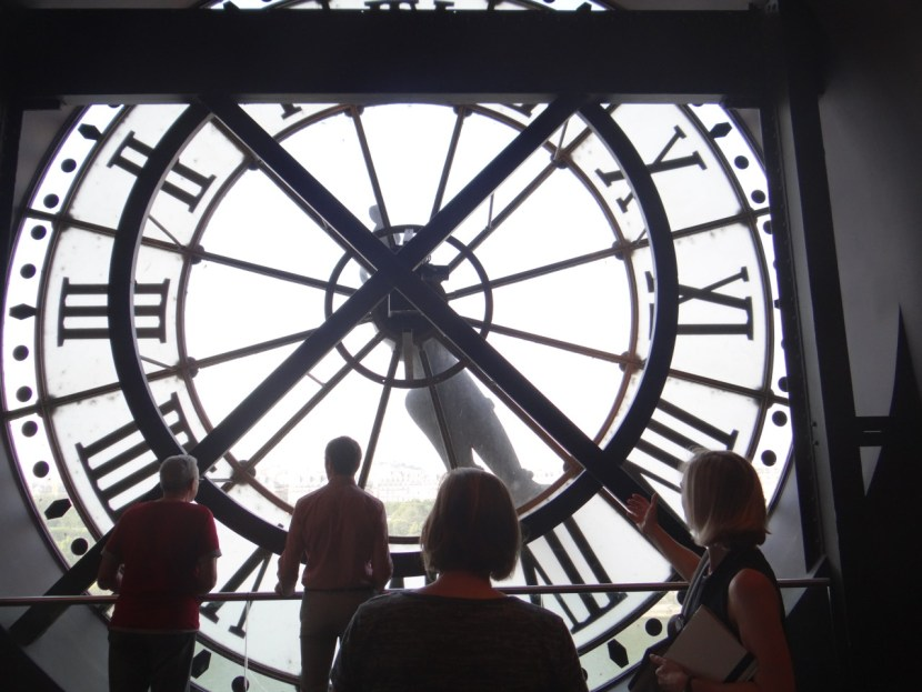 Musee D'Orsay clock view