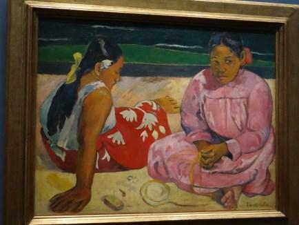 Paul Gaugin Tahitian Women at Musee D'Orsay