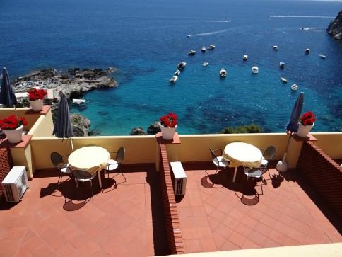 Capri Marina Piccola view