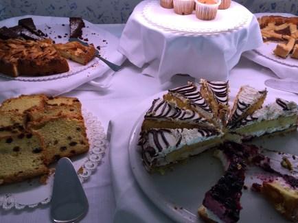 Breakfast Buffet Cakes
