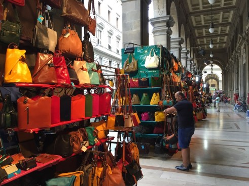 Florence leather handbag souvenirs