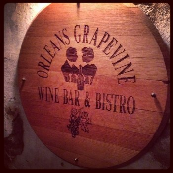 Orleans Grapevine Wine Bar Bistro