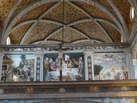 Church fresco Milan San Maurizio al Monastero Maggiore
