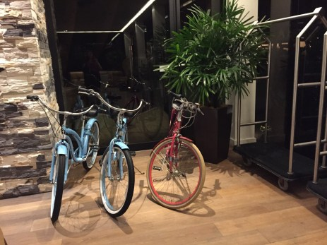 Hotel La Jolla bike share