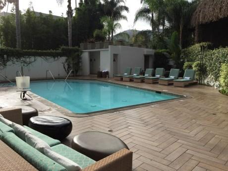 Hotel La Jolla pool