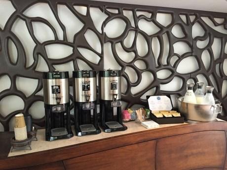 Hotel La Jolla refreshments