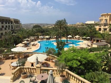 Kempinski Gozo hotel pool