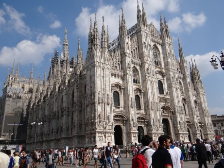 Duomo Milan Italy largest church
