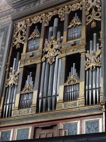 Organ at San Maurizio al Monastero Maggiore