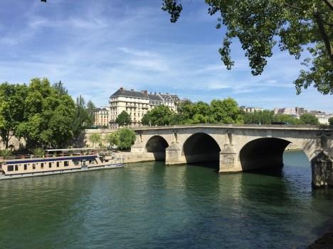 View of the Seine Paris