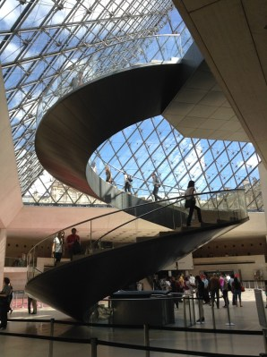 The Louvre Stairs Paris