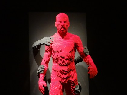 The Art of the Brick Through the darkness