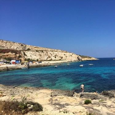 Gozo coastline Hondoq Qala