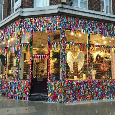 London Marylebone Ribbon store