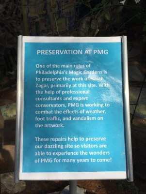 Preservation at the Magic Gardens Philly