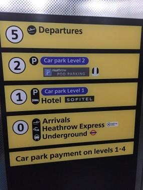 Terminal 5 Lift to Sofitel Heathrow Hotel