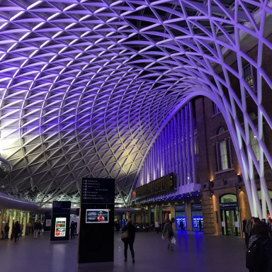 King's Cross Night view 10 Solo Travel TIps