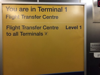 Connecting in Manchester Terminal 1 Transfer Centre