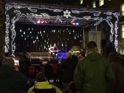 Christmas Tree Lighting Marylebone music