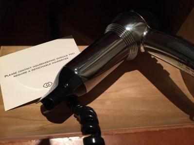Hairdryer Sofitel Heathrow Hotel