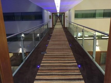Sofitel Heathrow hotel walkways