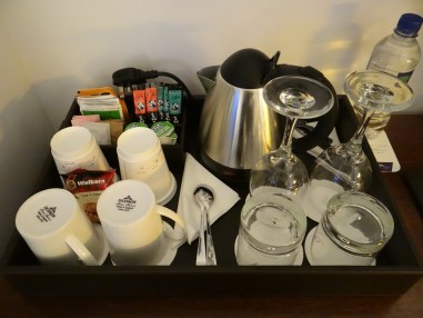 In Room Coffee Tea Sheraton Park Lane Hotel London