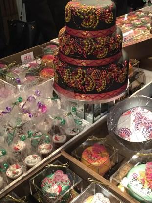 Taste of London Sari Cakes