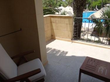 Kempinski Gozo Suite balcony