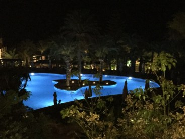 Kempinski Gozo Pool at night