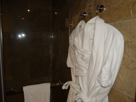 Kempinski Gozo Robes Bathroom