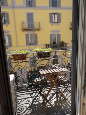 Milan Studio in Navigli balcony