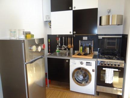 Kitchen Airbnb Milan Studio in Navigli