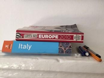 Old Italian Guidebooks