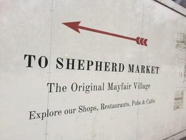 Shepherd Market Piccadilly Park Lane Sheraton