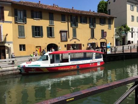 Navigli Milan Canal tour boat
